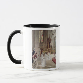 Communion at the Church of the Trinity, 1877 Mug