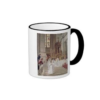 Communion at the Church of the Trinity, 1877 Coffee Mug