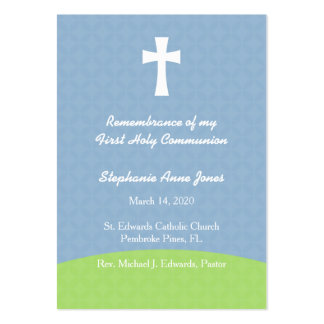Communion Bread of Life Large Business Card