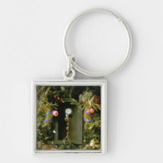 Communion cup and host key chains