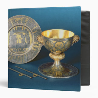 Communion Cup, Plate and Fistulae Binder