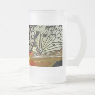 Communion Frosted Glass Beer Mug