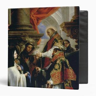 Communion of St. Teresa of Avila  c.1670 Binders