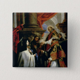 Communion of St. Teresa of Avila  c.1670 Button