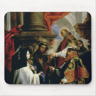 Communion of St. Teresa of Avila  c.1670 Mouse Pad