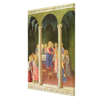 Communion of the Apostles, 1451-53 Canvas Print