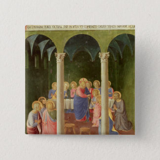 Communion of the Apostles, 1451-53 Pinback Button
