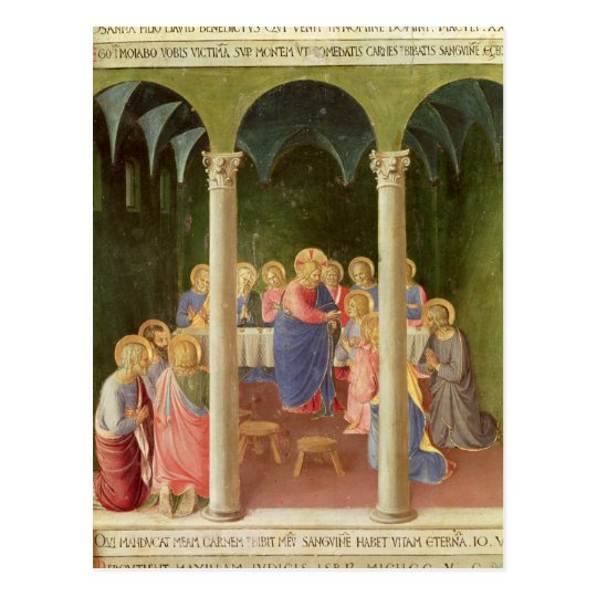 Communion of the Apostles, 1451-53 Postcard