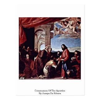 Communion Of The Apostles By Jusepe De Ribera Postcard