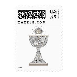 Communion Postage Stamp