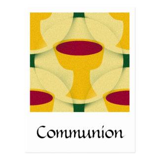 COMMUNION POSTCARD