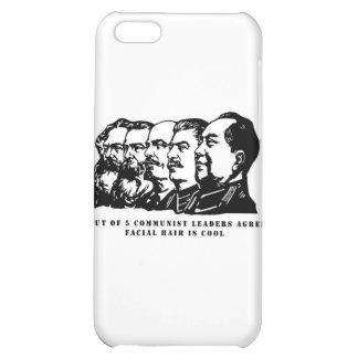 Communism facial hair iPhone 5C case