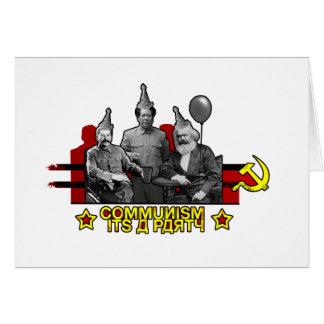 Communism It's a Party Card