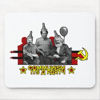 Communism It's a Party Mouse Pad
