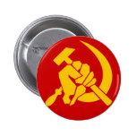 COMMUNISM PINBACK BUTTON