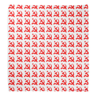 Communism sign of hammer vector bandana