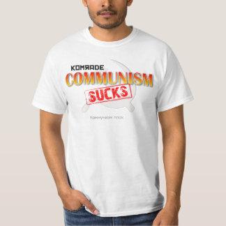 COMMUNISM SUCKS Funny T-Shirt Design Gift