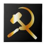 "Communism Symbol Ceramic Tile<br><div class=""desc"">Communism Symbol</div>"