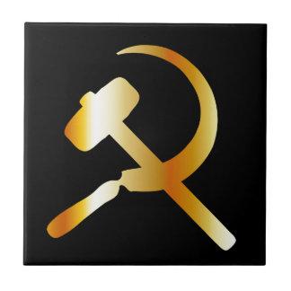 Communism Symbol Ceramic Tile