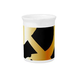 Communism Symbol Drink Pitcher