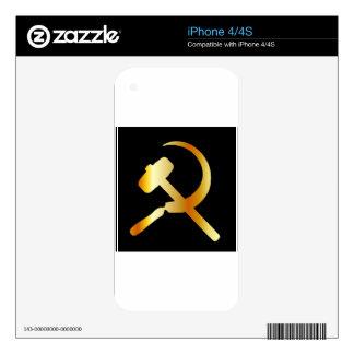 Communism Symbol iPhone 4S Decal