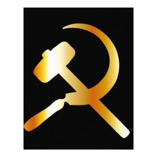 Communism Symbol Letterhead