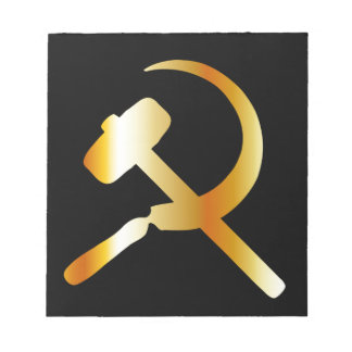 Communism Symbol Notepad