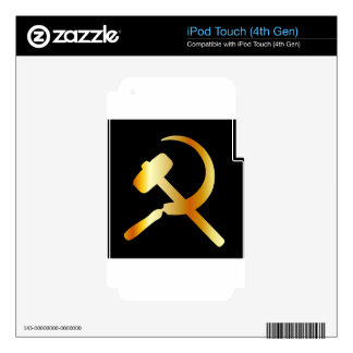 Communism Symbol Skins For iPod Touch 4G
