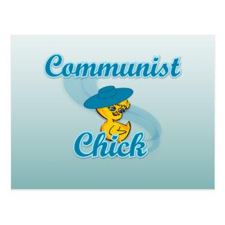 Communist Chick #3 Postcard