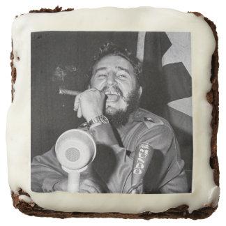 Communist Dictator Fidel Castro Chocolate Brownie