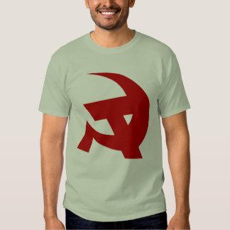 Communist DKP Style Hammer & Sickle Shirt