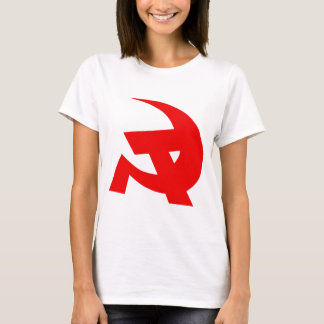 Communist DKP Style Hammer & Sickle T-Shirt