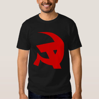 Communist DKP Style Hammer & Sickle T Shirt