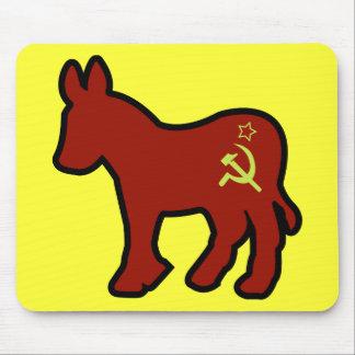 Communist Donkey Mouse Pad
