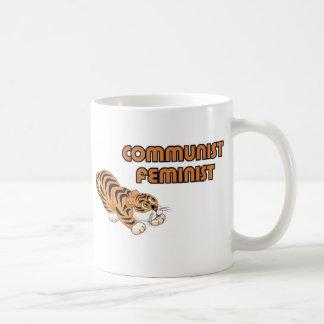 Communist Feminist Tiger Luv Coffee Mug