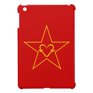 Communist Heart Cover For The iPad Mini