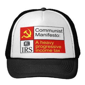 Communist IRS shirts Mesh Hats