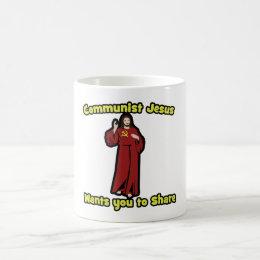 Communist Jesus Coffee Mug