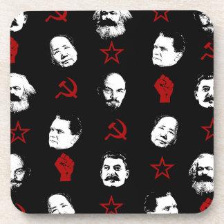 Communist Leaders Drink Coaster