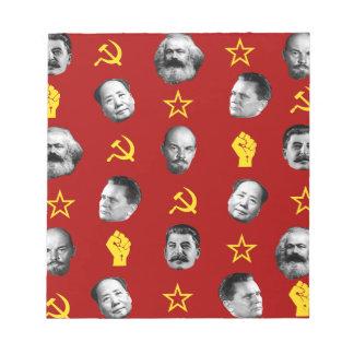 Communist Leaders Notepad
