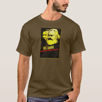 Communist Manifesto Karl Marx and Friedrich Engels T-Shirt