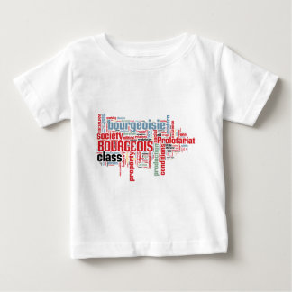 Communist Manifesto Word Cloud Baby T-Shirt