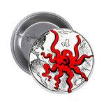 Communist Octopus Buttons