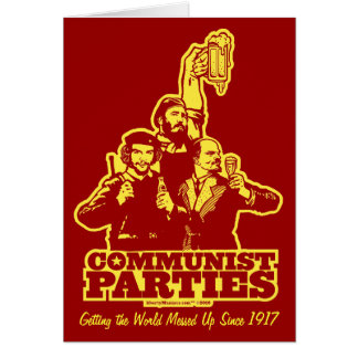 Communist Parties Card