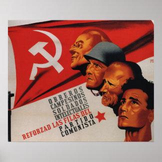 Communist party (1937)_Propaganda Poster