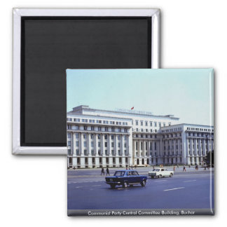 Communist Party Central Committee Building, Buchar Magnets