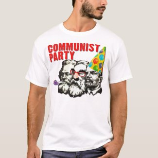 Communist Party Funny Spoof T-Shirt