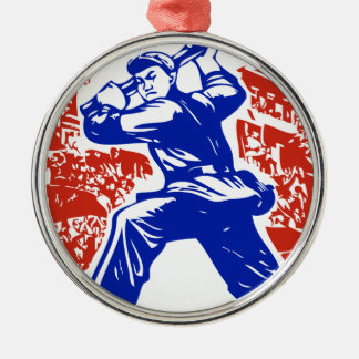 Communist Party of China Christmas Tree Ornament