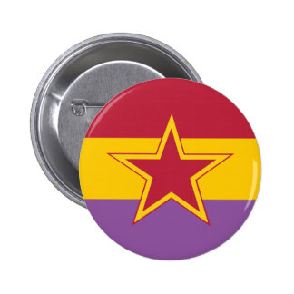 Communist Party Of Spain, Colombia Political 2 Inch Round Button