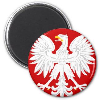 Communist Poland 2 Inch Round Magnet